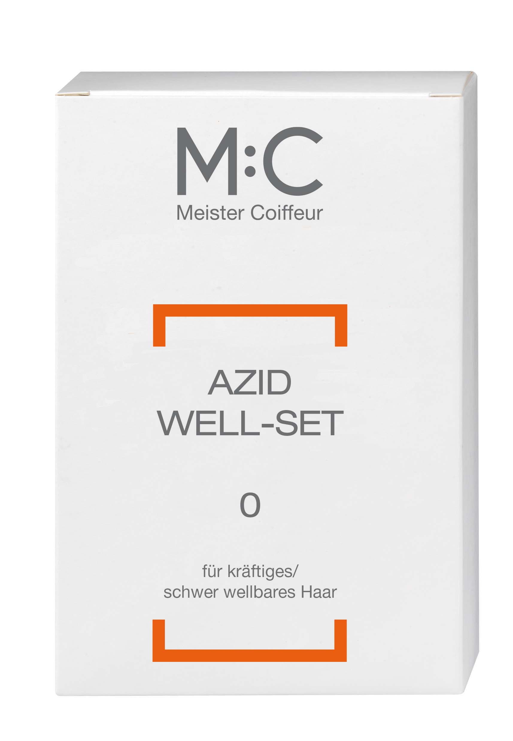 M:C Azid Wave D Set 0 for strong, difficult to perm hair
