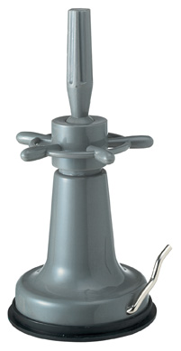 Table holder with suction foot