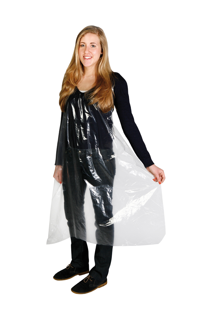 Disposable dyeing cape
