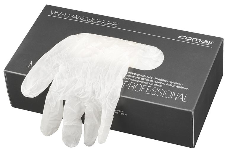 Vinyl gloves powdered, medium