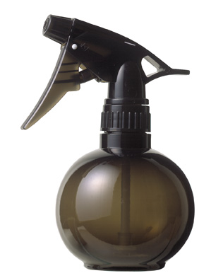 Ball spray bottle Salon smoke-grey
