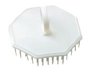 Scalp massage brush white