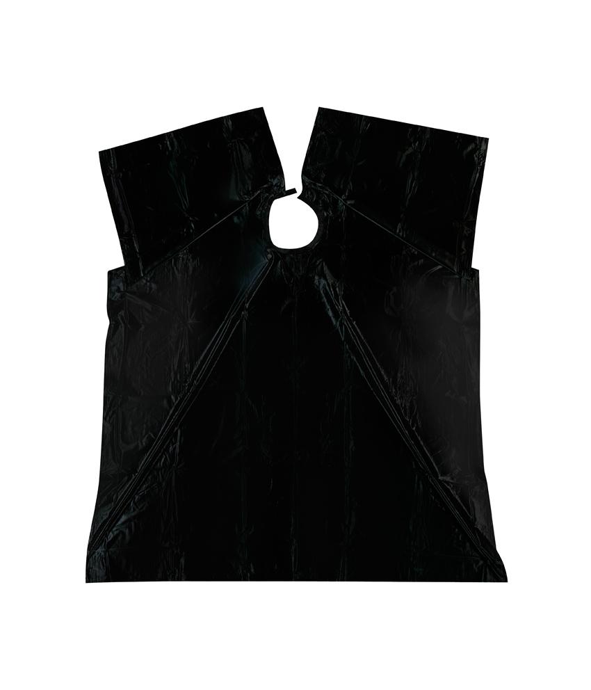 Umhang Plastique schwarz