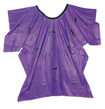 Umhang Werkzeugmotiv violett