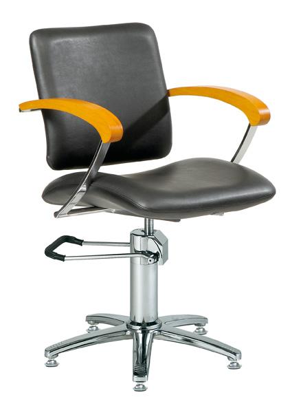 Styling chair London A, armrest beech