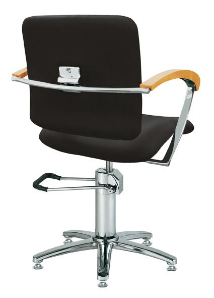 Styling chair London B, armrest beech