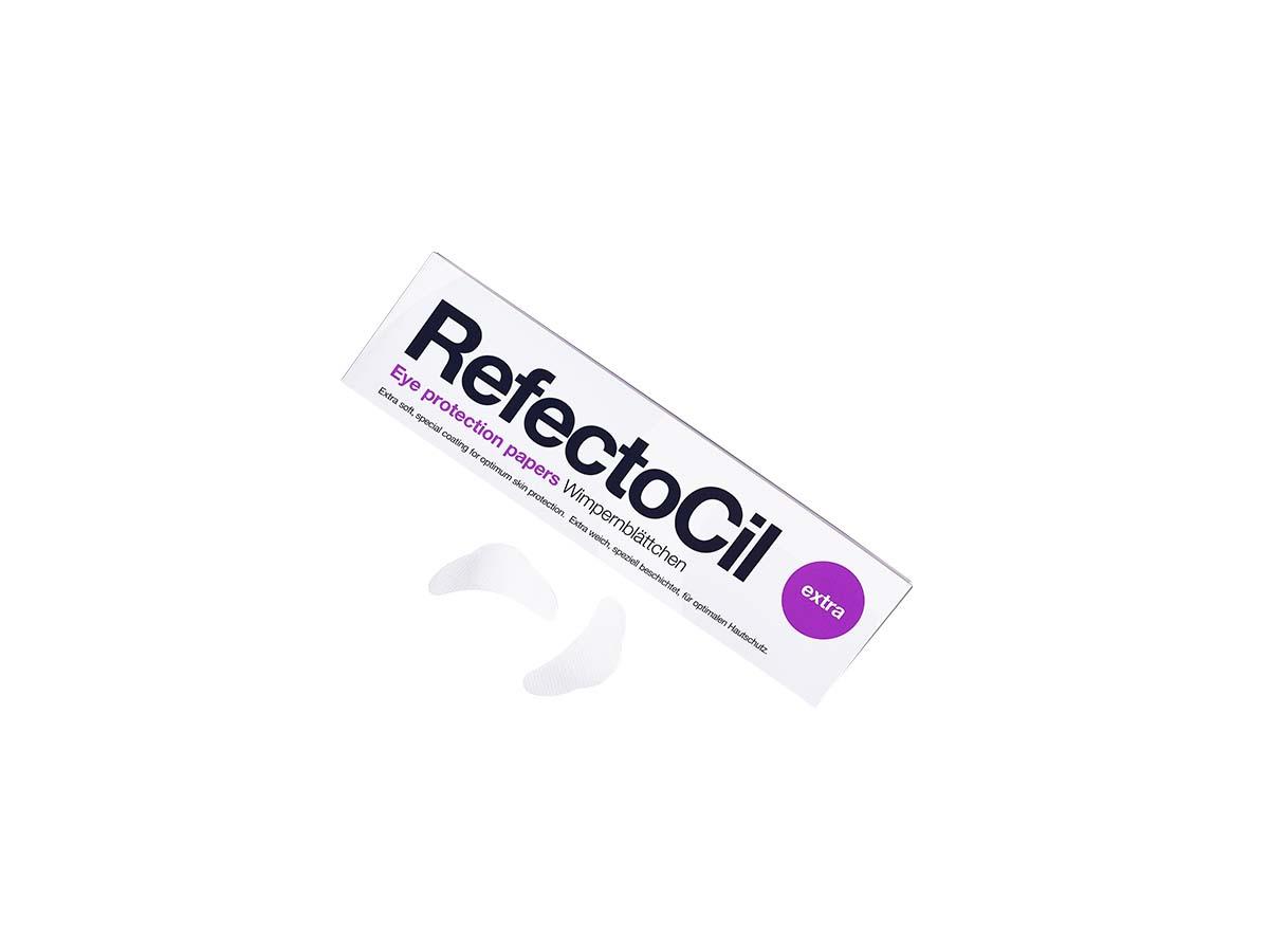 RefectoCil Защитные бумажки под глаза очень мягкие, 80 штук