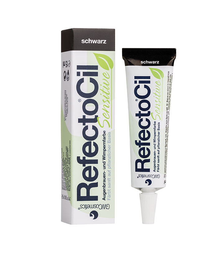 RefectoCil Sensitive Eyebrow and eyelash tint black