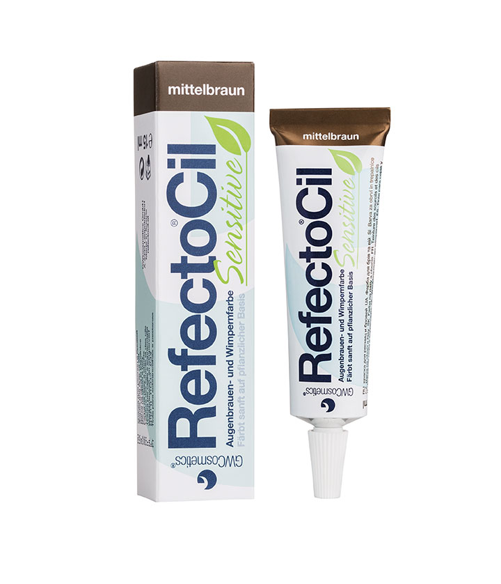 RefectoCil Sensitive Eyebrow and eyelash tint medium brown