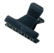 Duck bill clips black