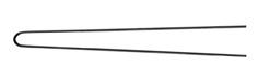 Curler pins 6,5 cm, 500 pieces