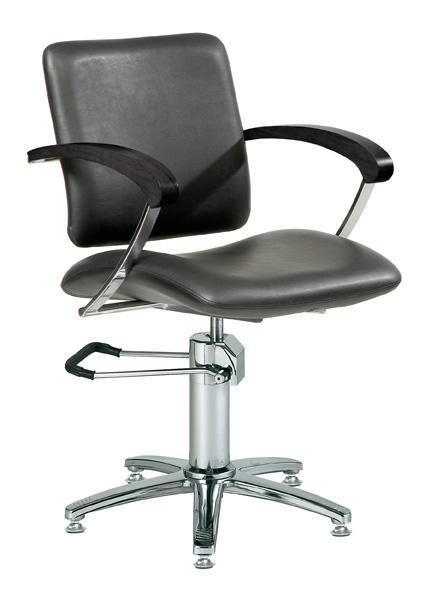 Styling-chair-London-A-armrest-black