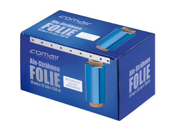 Aluminium foil 14 my blue