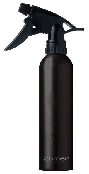 Alu water spray bottle black