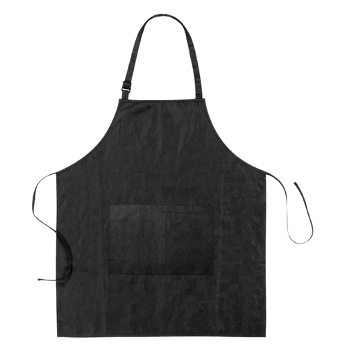 Dyeing apron Relief black