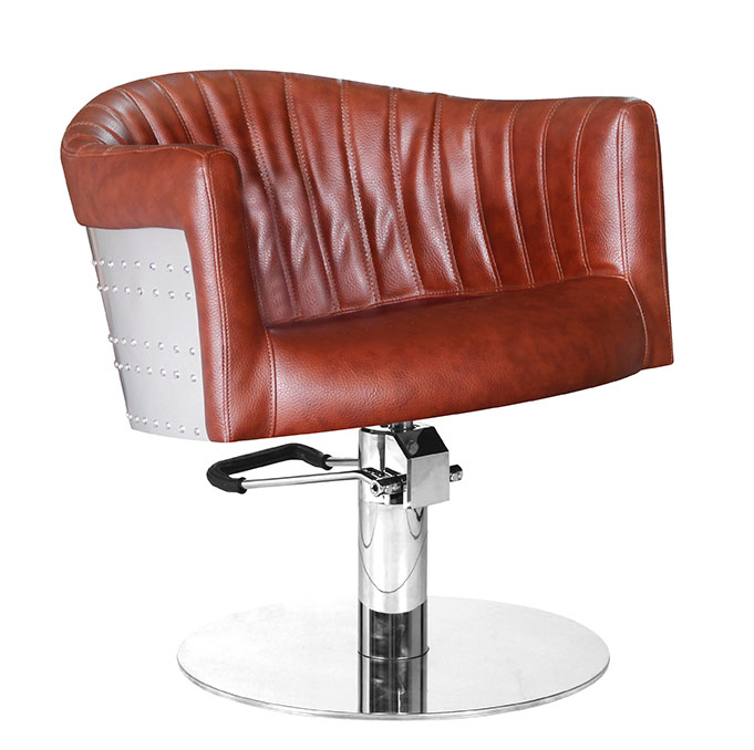 Styling chair St. Tropez, cognac brown