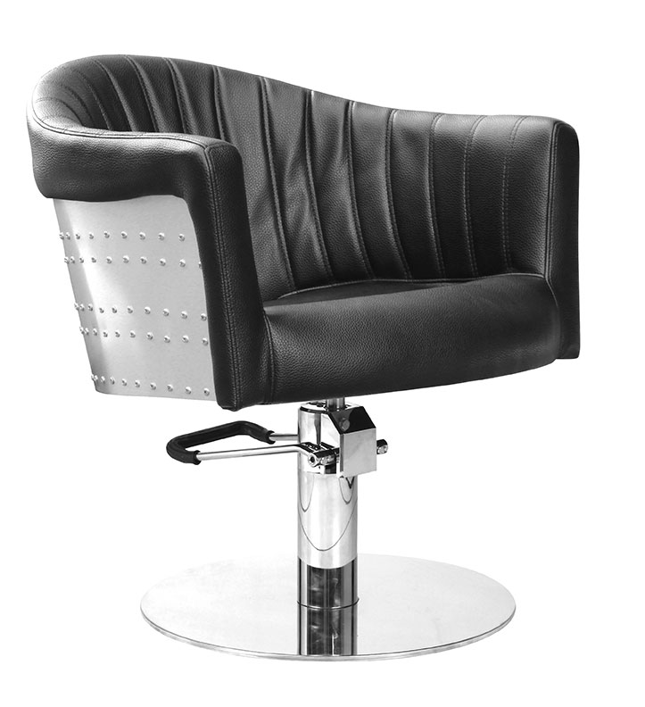 Styling chair St. Tropez, black