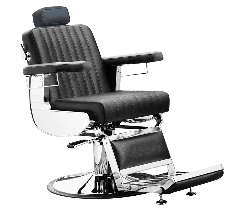 Gents' styling chair Diplomat, black