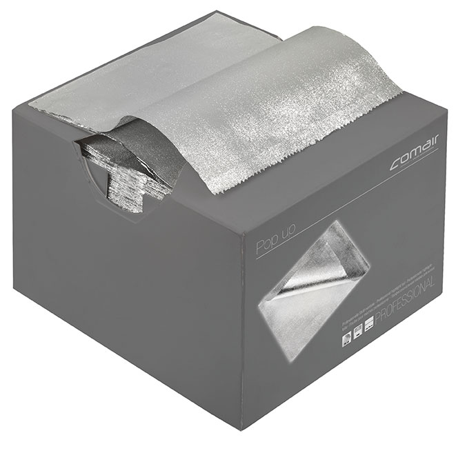 Aluminium foil Pop up