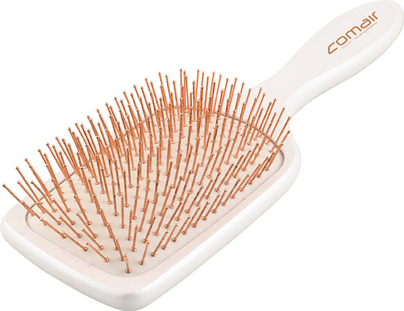 Paddle Brush Copper Rose